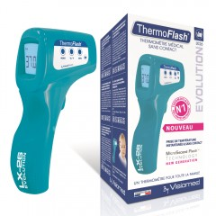 Termometr bezdotykowy Visiomed Thermoflash LX 26-Evolution pop blue