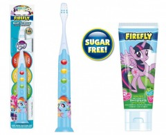 "POMYSŁ NA PREZENT: Szczoteczka do zębów dla dzieci 3+ My Little Pony ""Rainbow Dash"" Ready Go Light Up Toothbrush + Pasta do zębów My Little Pony"